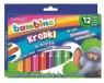 Kredki w sztyfcie Bambino, 12 kolorów (STM-628672)