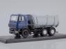 MAZ-6501 U-shape Dumper Truck (dark blue/grey) (SSM1206)
