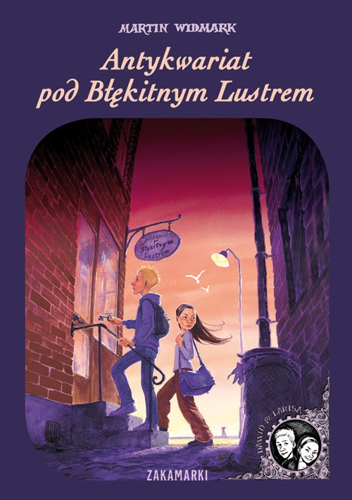 Antykwariat pod Błękitnym Lustrem Widmark Martin