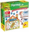 Carotina Farma ze słowami - Gra edukacyjna (P50673)