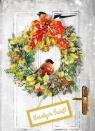Karnet B6 Boże Narodzenie Wianek
