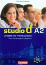 Studio d A2 Teilband 1 Kurs und Ubungsbuch Podręcznik z ćwiczeniami + CD