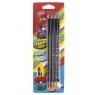 Zestaw 4 Ołówki + Temperówka