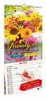 Kalendarz 2020 KPD-1 Kwiaty z naklejkami