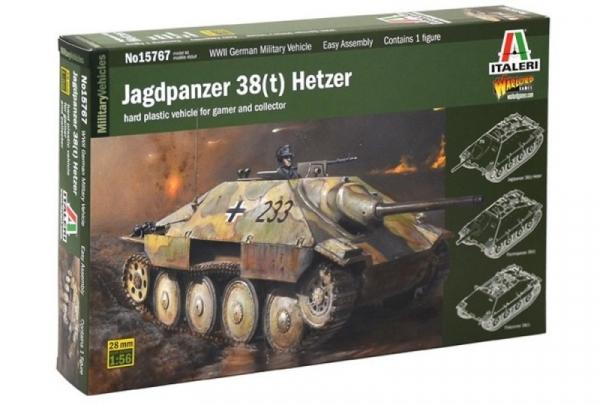 Model plastikowy Jagdpanzer 38t Hetzer (15767)