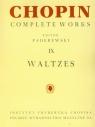 Chopin Complete Works IX Walce