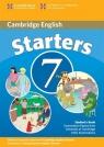 Cambridge English Starters 7 Student's Book
