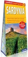 Sardynia laminowany map&guide (2w1: przewodnik i mapa)