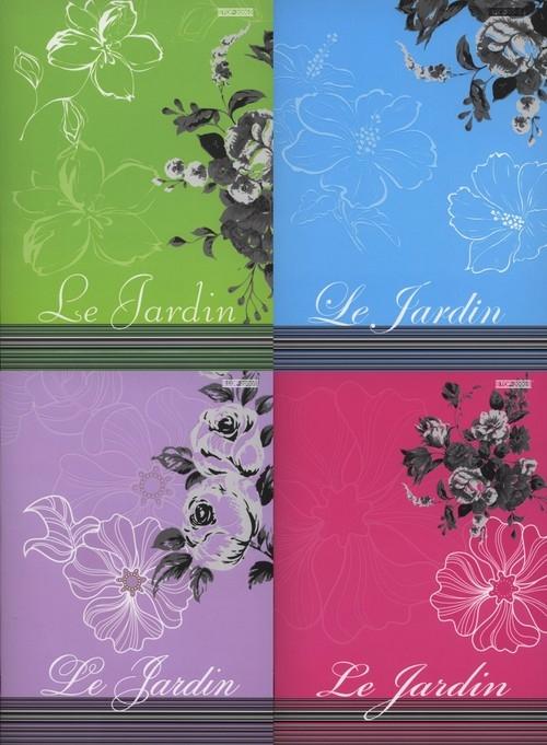 Zeszyt A5 Top-2000 w kratkę 60 kartek Le Jardin mix