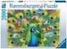 Ravensburger, Puzzle 2000: Pawia Kraina (165674)