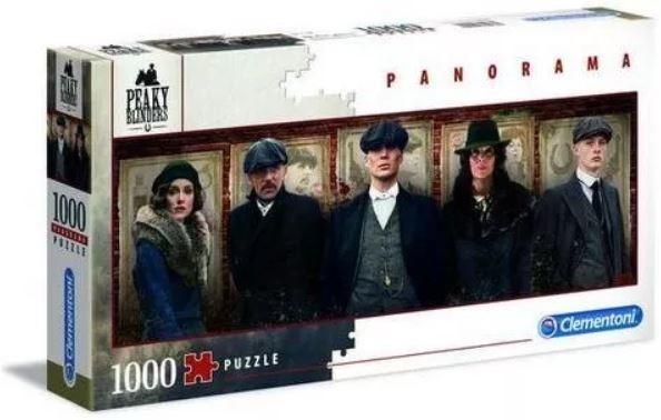 Puzzle 1000 elementów Panorama Netflix Peaky Blinders (39567)