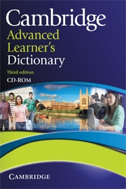 Camb Advanced Learner's Dictionary 3rd Ed. CD-ROM
