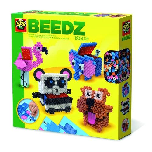 Koralikowe prasowanki Zwierzątka 3D pudełeczka