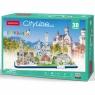 Puzzle 3D: Cityline - Bawaria (306-20267)Wiek: 8+