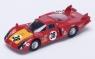 Alfa Romeo 33/2 #38 C. Facetti/S. Dini 5th Le Mans 1968