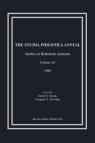 The Studia Philonica Annual, XI, 1999