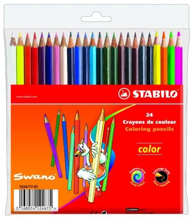 Kredki Color 20+4 kolory etui STABILO