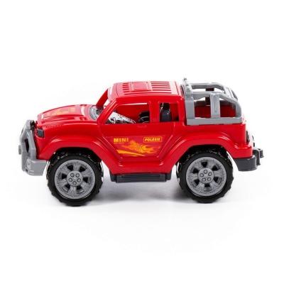 Samochód Polesie jeep czerwony (84675)