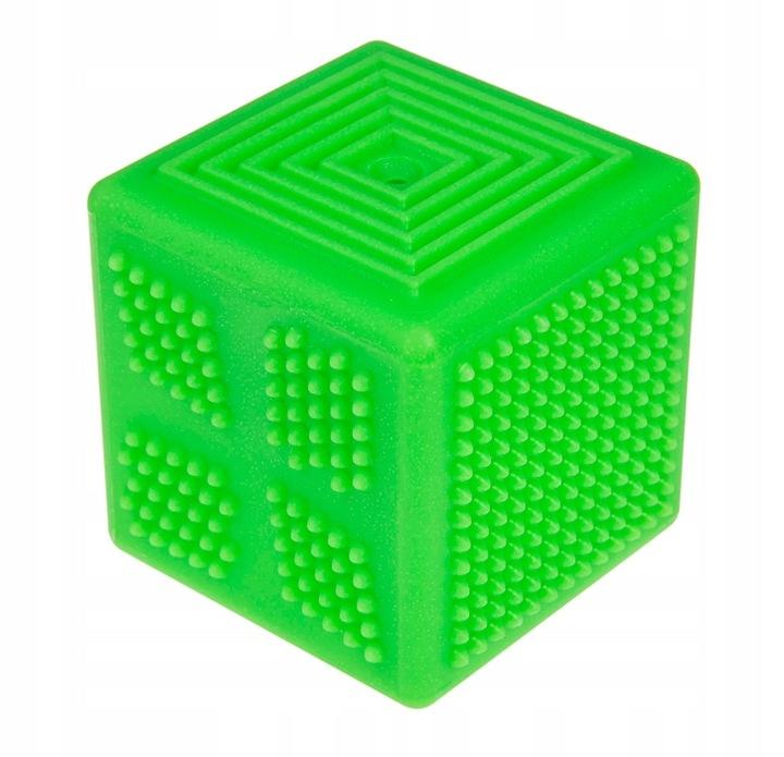 Tullo, Kostka sensoryczna 8,5 cm, zielona (467)