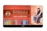 Kredki Mondeluz 72 kolory opakowanie metalowe