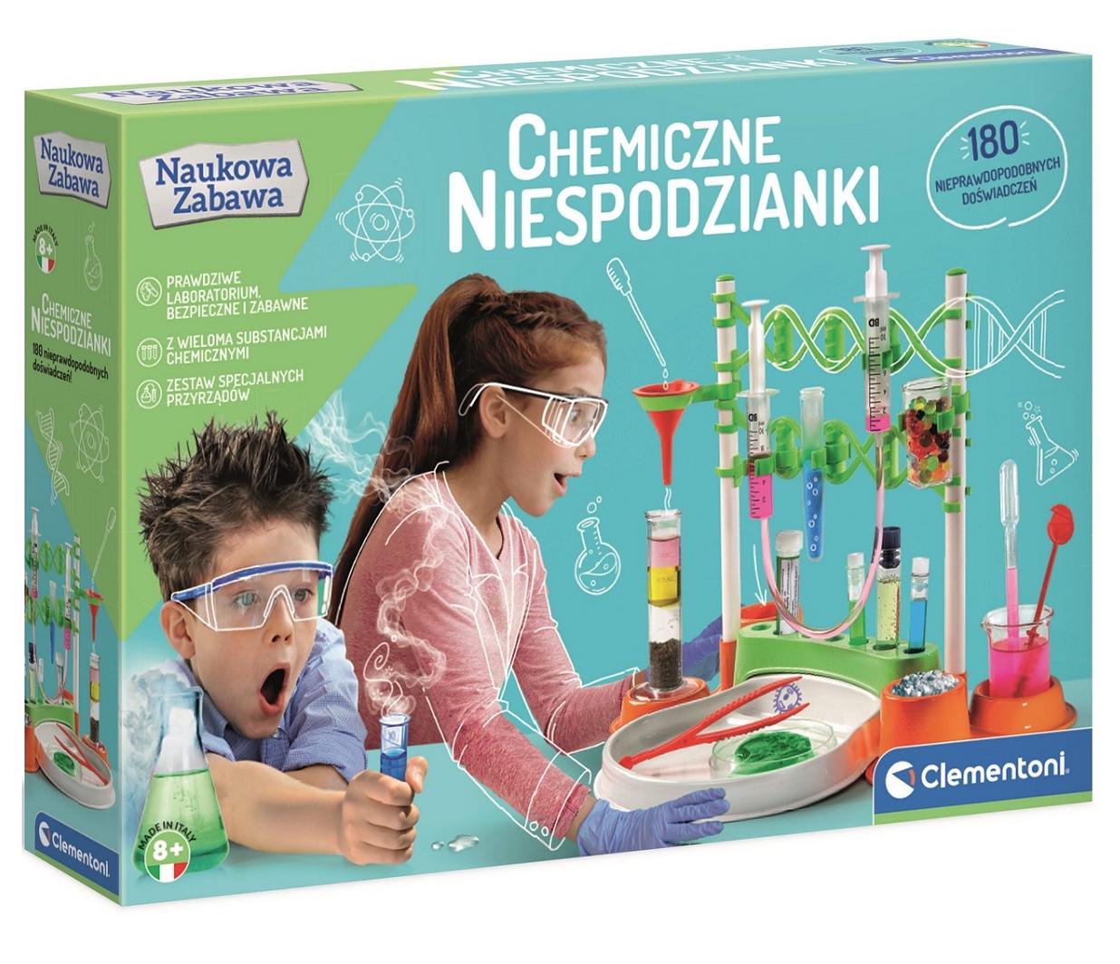 Naukowa Zabawa: Chemiczne niespodzianki (50667)
