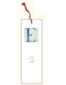 Zakładka do książki z anagramem - Litera E