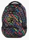 Plecak młodzieżowy CoolPack College Rainbow Stripes 27L
