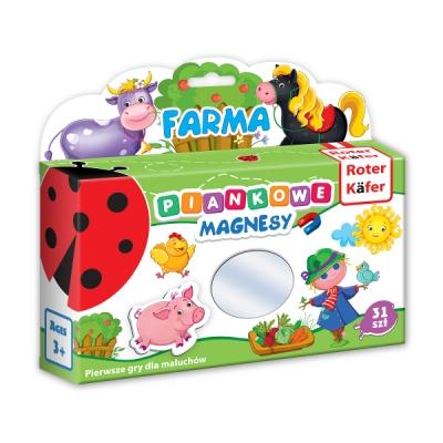 Mój mały świat na magnesach - Farma (RK3020-01)