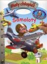 Mały chłopiec Samoloty Naklejki Duża plansza