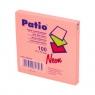 Notes samoprzylepny Patio, neonowy 75 x 75 mm, różowy (13062PTR)