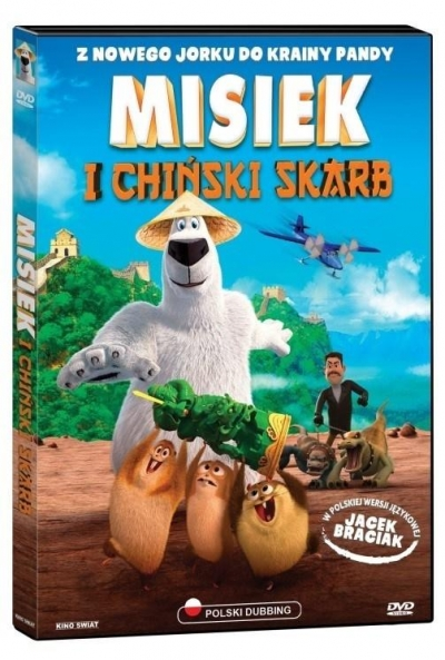 Misiek i chiński skarb (DVD) Richard Finn, Tim Maltby