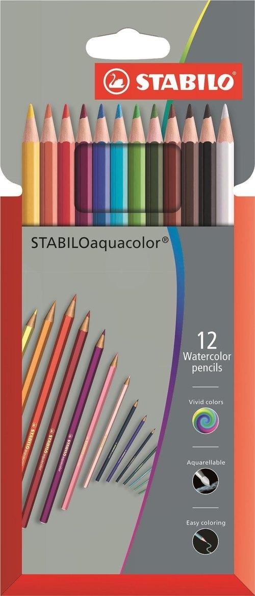 Kredki Aquacol 12 kolorów