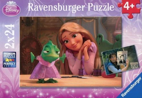 Puzzle Disney Roszpunka 2x24 (088676)