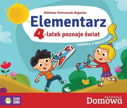 Elementarz 4-latek poznaje świat Pietruczuk-Bogucka Elżbieta