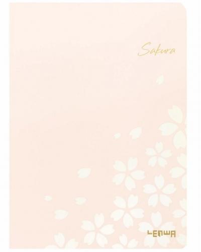 Szkicownik B6/80K Sakura różowy