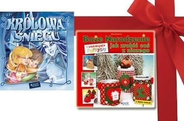 Królowa śniegu + Boże Narodzenie i zaskakujące pomysły, jak zrobić coś z niczego (pakiet) praca zbiorowa