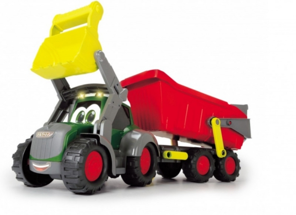 Pojazd ABC Happy Fendt traktor z przyczepą 65 cm (204119000)