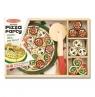 Drewniany zestaw Pizza party (10167)