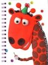 Notatnik A5. Żyrafa. Marzipan