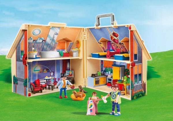 Playmobil: Nowy przenośny domek dla lalek (5167)