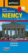 Niemcy mapa samochodowa 1:650 000 Praca zbiorowa