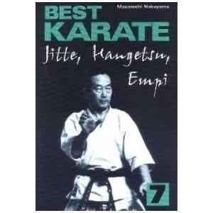 Best Karate 7 Jitte, Hangetsu, Empi NAKAYAMA MASATOSHI