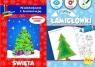Pakiet: Naklejam i..Świąta/Zimowe łamigłówk