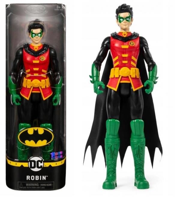 Duża figurka DC 30 cm - Joker, Harley Quinn, Robin