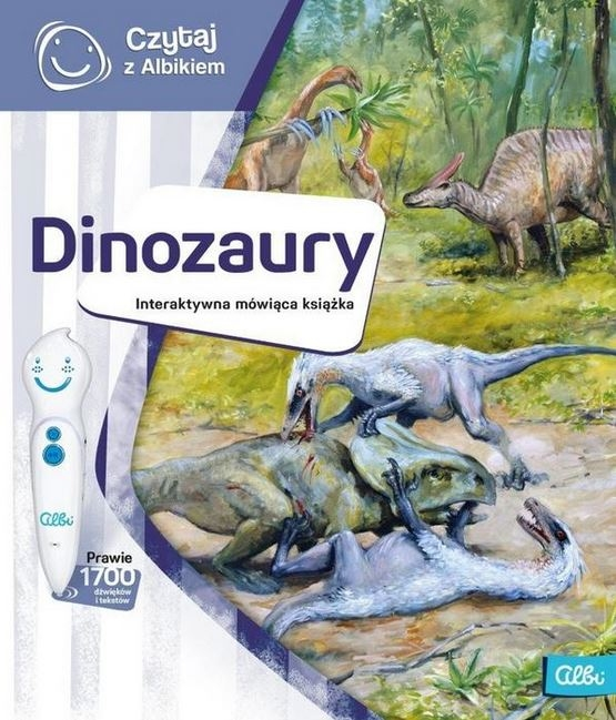 Czytaj z Albikiem - Dinozaury (Uszkodzona okładka)