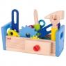 Drewniana skrzynka narzędziowa