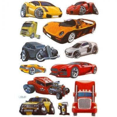 Naklejka (nalepka) Titanum Craft-Fun Series samochody (XOL20)