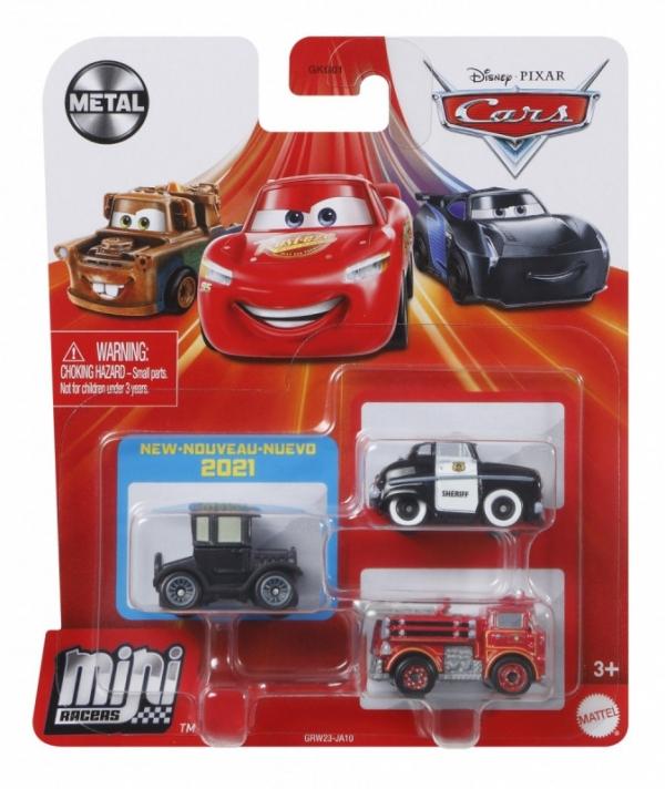 Pojazdy Auta 3-pak Szeryf, Lizzi i Edek (GKG01/GRW23)