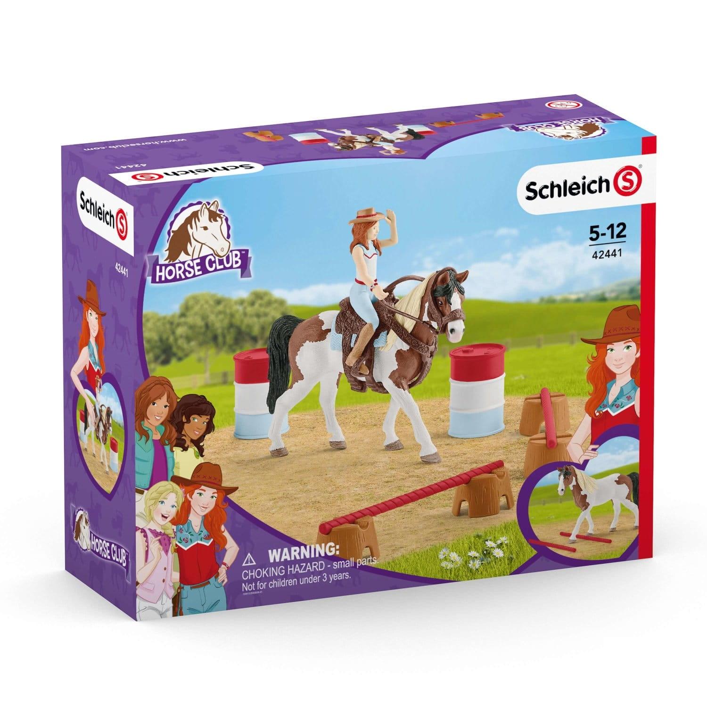 Horse Club: Zestaw do jazdy westernowej Hannah - Schleich (42441) (Uszkodzone opakowanie)
