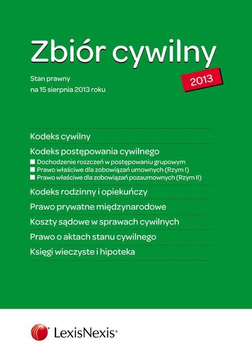 Zbiór cywilny 2013